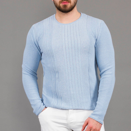 Nico Tricot Sweater // Light Blue (S)