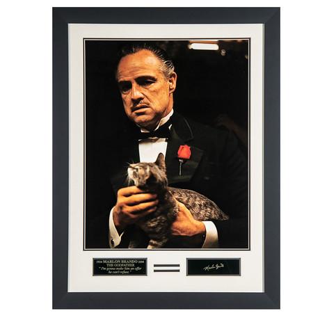 The Godfather // Facsimile Signature Display