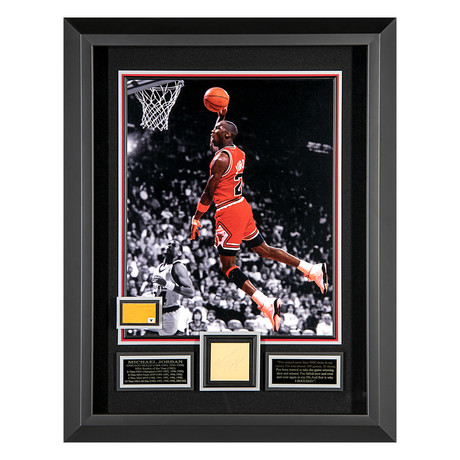 Michael Jordan // Autographed Display