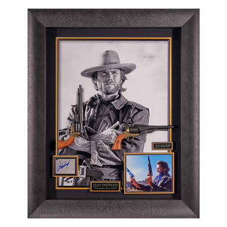 Josey Wales // Autographed Display