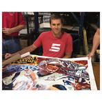 Tom Brady G.O.A.T // Autographed Display