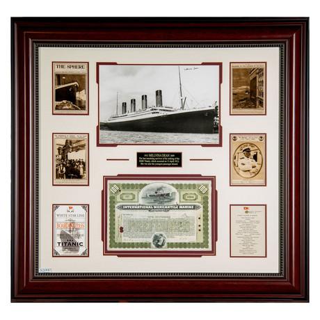 Titanic // Signed Stock Certificate