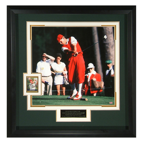 Payne Stewart // Autographed Display