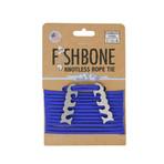 Fish Bone // Stainless Steel + 10' Paracord // 2 Pack (Black)