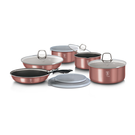 12 piece Cookware Set // I-Rose Edition