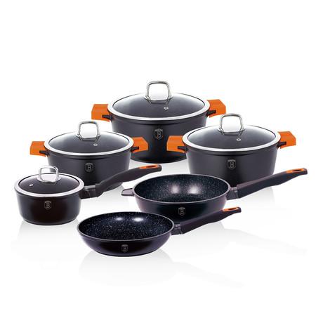 10 piece Cookware Set // Granite Diamond Line