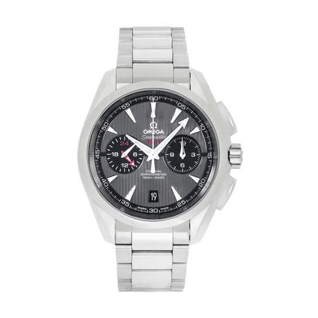 Omega Seamaster Aqua Terra GMT Chronograph Automatic // 231.10.43.52.06.001 // Store Display