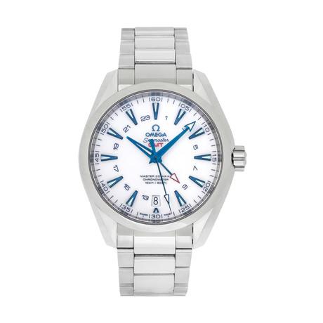 Omega Seamaster Aqua Terra GMT Good Planet Automatic // 231.90.43.22.04.001 // Store Display