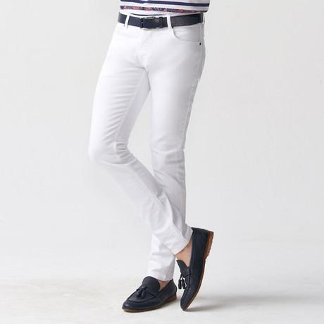 Tyson Pant // White (30WX34L)