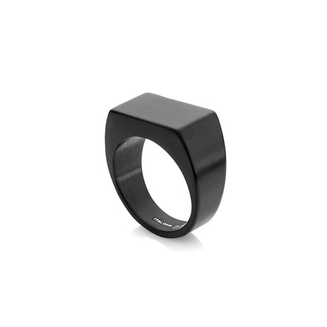 Signet Ring // Black (5)