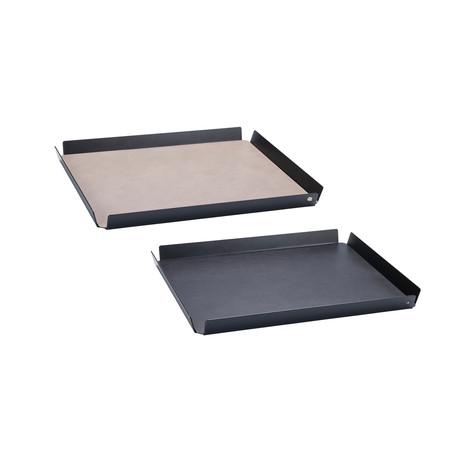 Tray Square // Medium (Cognac, Black, Anthracite)