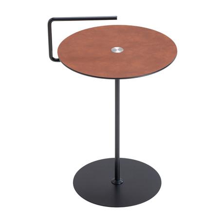 Pick-Up Table Jewel Alu // Medium (Cognac, Black)