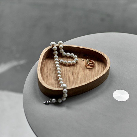 Wood Box Curve // Small (Natural)