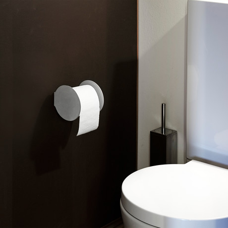 Toilet Paper Holder (Black)