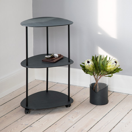 Curve Slim Table Double (Black, Anthracite)