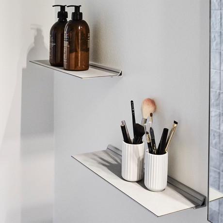 Slim Shelf // Small (Black)