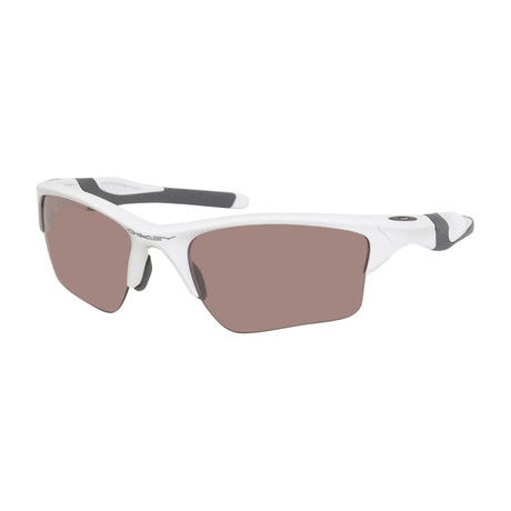 Men's OO9154-63-62 Sunglasses // Polished White + Golf Pink