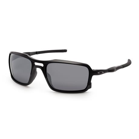 Men's OO9266-01-59 Sunglasses // Matte Black + Gray