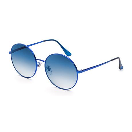 Women's Polly Sunglasses // Fadeism Blue