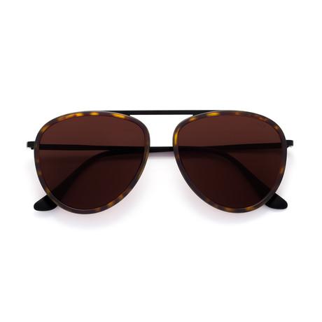 Unisex Dokyu Sunglasses // Warm Brown
