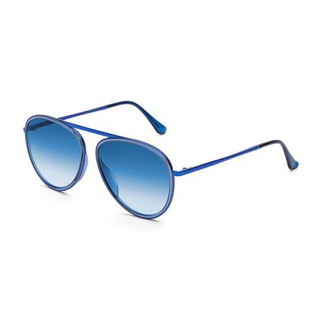 Unisex Dokyu Sunglasses // Fadeism Blue