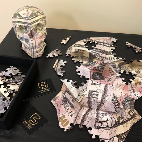 Puzzle // Money Skull // $50