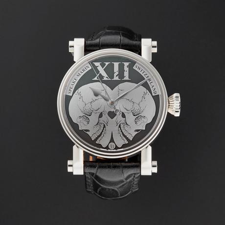 Speake-Marin Piccadilly Mirrored Skulls Automatic // Unworn