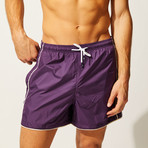 The Classic Piping // Eggplant (M)