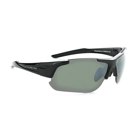 Flashdrive Polarized Sunglasses // Black // Interchangeable Lenses