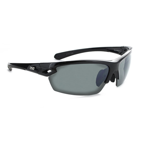 Voodoo Polarized Sunglasses // Black // Interchangeable Lenses