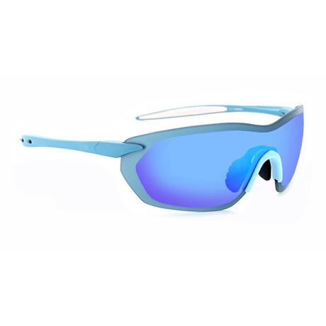 Fixie Dash Sunglasses // Aluminum Blue