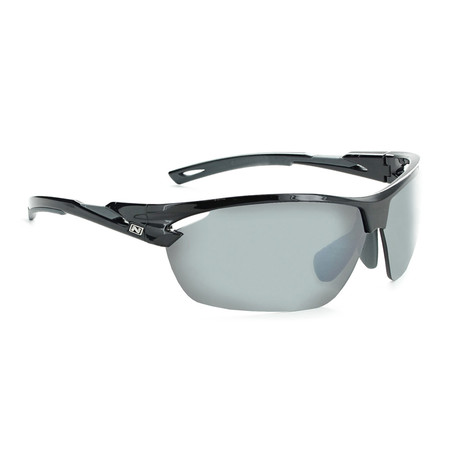 Tach Polarized Sunglasses // Black // Interchangeable Lenses