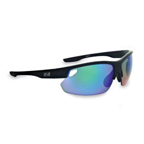 Desoto Plus Sunglasses // Matte Black // Interchangeable Lenses