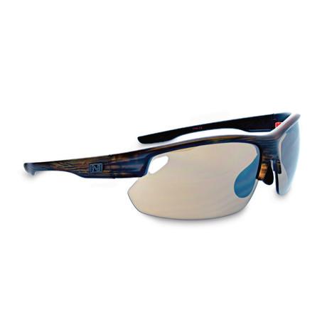 Desoto Plus Sunglasses // Matte Driftwood Demi // Interchangeable Lenses