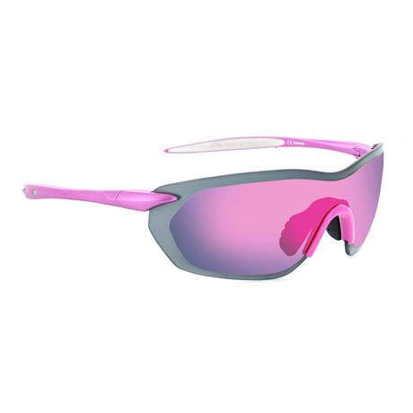 Fixie Dash Sunglasses // Aluminum Pink