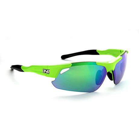 Neurotoxin 3.0 Sunglasses // Green // Interchangeable Lenses