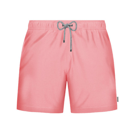 Cotton Candy Swim Short // Light Pink (S)