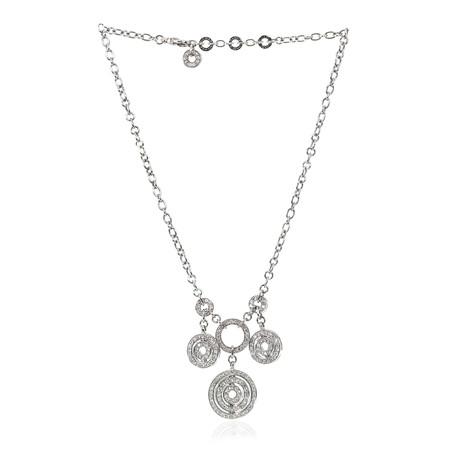 Bulgari Astrale 18k White Gold Diamond Necklace