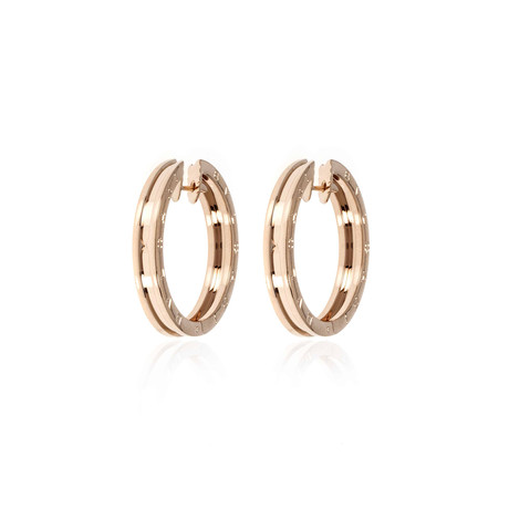Bulgari B Zero 18k Rose Gold Earrings