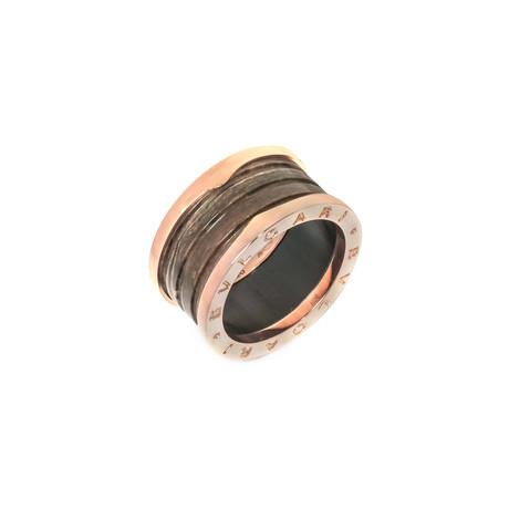 Bulgari 18k Rose Gold B.Zero 1 Ring (Ring Size: 5)