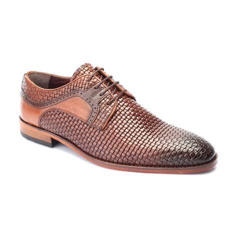 Esteban Dress Shoe // Tobacco (Euro: 39)