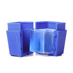 ice•ology Ice Tray // Large 4 Count Cube