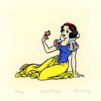 Snow White Hand Painted Sowa & Reiser Etching #D/500 (Unframed)