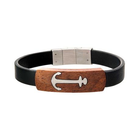 Anchor ID Bracelet // Black