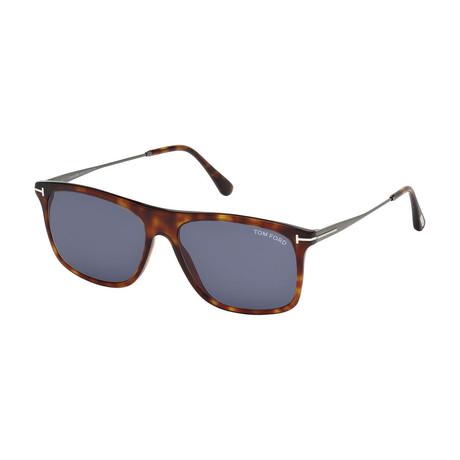 Men's Max Sunglasses // Tortoise + Blue