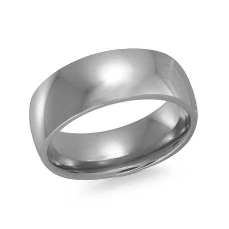Polished Tiffany Comfort Fit Ring (5)