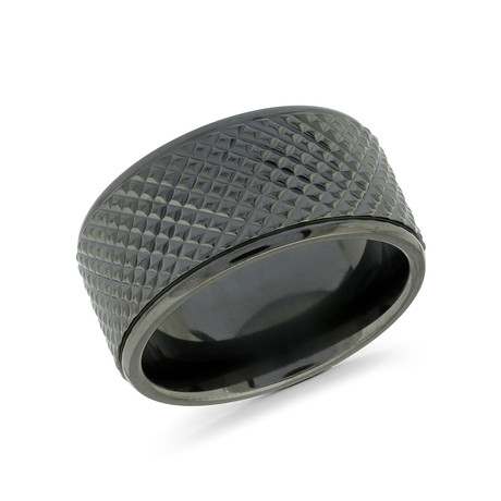 Polished Stud Comfort Fit Ring (5)