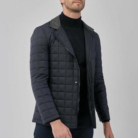 Drew Overcoat // Navy Blue (Euro: 46)
