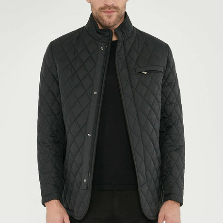 Winston Overcoat // Black (Euro: 46)