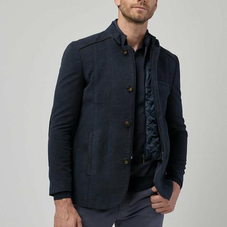 Frank Overcoat // Navy Blue (Euro: 46)
